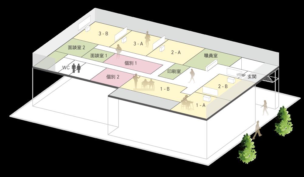 埼玉校_フロアマップ
